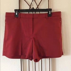 WHBM Rust Colored City Short - Sz 14